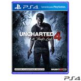 Jogo Uncharted 4: A Thief`s End para PS4