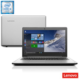 Notebook Lenovo, Intel® Core™ i3 6100U, 4GB, 1TB, Tela de 15,6'', Ideapad 310 - 80UH0001BR
